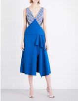 Roland Mouret Kao crepe dress