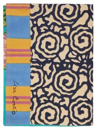 Lisa Corti - King Veronese Cotton Table Runner - Green Print