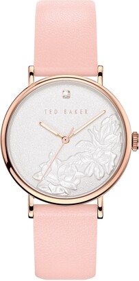 Ted Baker Women's Phylipa Flowers Strap Watch, 37mm