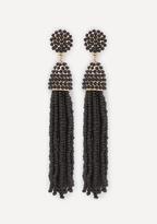 Bebe Beaded Tassel Earrings
