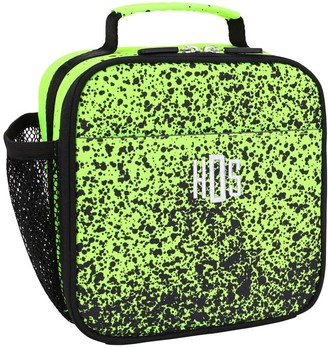 Pottery Barn Teen Gear-Up Spray Ombre Neon Yellow Recycled Lunch Boxes