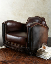 """Old Hickory Tannery Stedman"""" Hairhide Chair"""