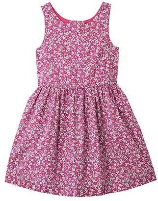 Polo Ralph Lauren Kids Floral Cotton Poplin Dress (Toddler) (Pink Multi) Girl's Dress