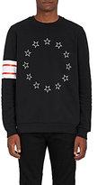 Givenchy Men's Stars & Stripes Cotton Fleece Sweatshirt