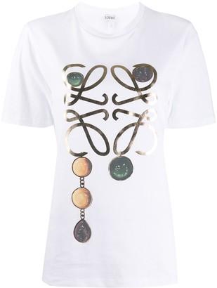 Loewe jewel logo-print T-shirt