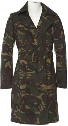 Plein Sud Jeans Khaki Cotton Trench coats