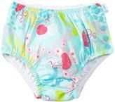 I Play Girls' Wildflower Classics Ultimate Ruffle Snap Swim Diaper (3mos 4yrs) - 8127877