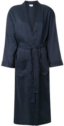 POUR LES FEMMES Tie Waist Robe