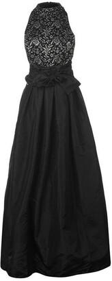 Eliza J High neck lace dress