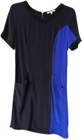 Les Petites Blue Silk Dress for Women