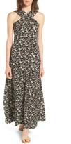 MICHAEL Michael Kors Women's Brooks Cross Neck Maxi Dress