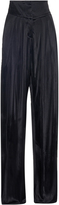 Balmain High-rise pleated trousers