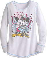 Disney Mouse Long Sleeve Thermal Tee for Women