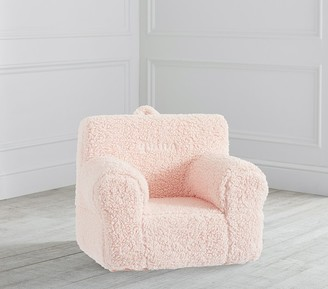 Pottery Barn Kids My First Blush Cozy Sherpa Anywhere Chair
