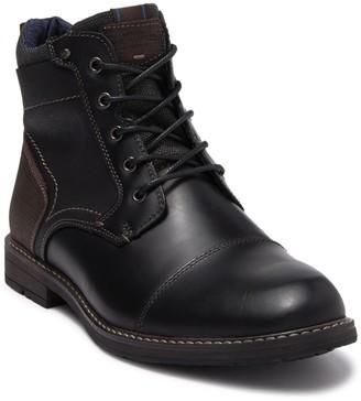 Nunn Bush Fuse Leather Cap Toe Chukka Boot - Wide Width Available