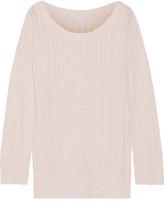 Eberjey Elsa Cable-knit Pajama Top - Beige