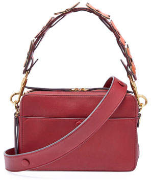 Anya Hindmarch The Stack Shoulder Circulus Bag, Red