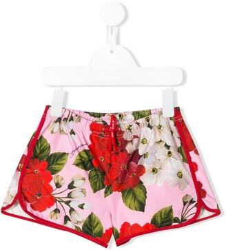 Dolce & Gabbana Kids Floral Shorts