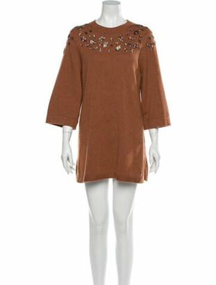 Chanel 2016 Mini Dress Brown
