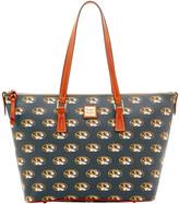 Dooney & Bourke NCAA Missouri Zip Top Shopper