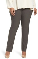 Nic+Zoe Plus Size Women's Wonder Stretch Straight Leg Pants
