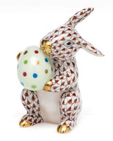 Herend Easter Bunny Figurine
