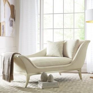 Caracole Compositions Avondale Velvet Chaise Lounge Caracole Compositions