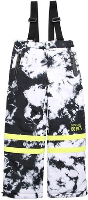Diesel Tie Dye Nylon Padded Ski Pants