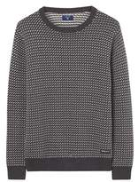 Gant Men's Grey Cotton Sweater.