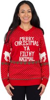 Costume Agent Home Alone Filthy Animal Ugly Sweater