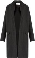 Raey Double-faced wool-blend blanket coat