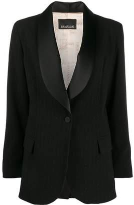 Ermanno Scervino satin lapels tuxedo blazer