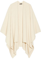 The Row Cappeto Cashmere And Silk-blend Bouclé Wrap - Cream