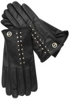 MICHAEL Michael Kors Leather Astor Studded Gloves