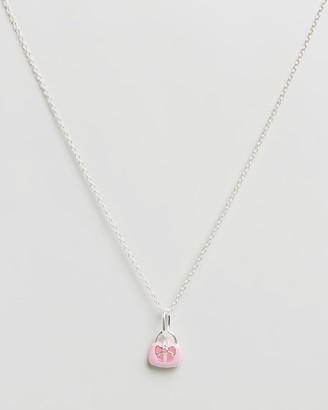 My Little Silver Handbag Pendant & Necklace