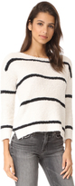 BB Dakota Karin Striped Chenille Sweater