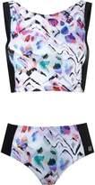 BRIGITTE printed crop top bikini set