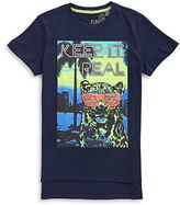 Manguun Keep It Real Graphic T-Shirt