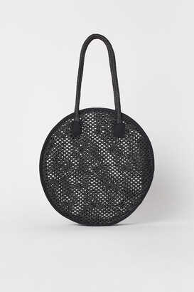 H&M Round Straw Bag