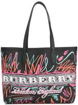 Burberry The Medium reversible tote b