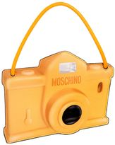 Moschino Camera Printed Leather Pouch