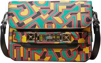 Proenza Schouler Keith HaringTM PS11 Mini Classic bag