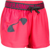 Under Armour Play-Up Graphic-Print Shorts, Big Girls (7-16)