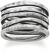 James Avery Jewelry James Avery Stacked Sterling Silver Hammered Ring
