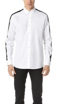Ami Long Sleeve Shirt with Trim