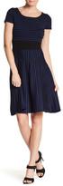 Taylor Fit & Flare Knit Dress