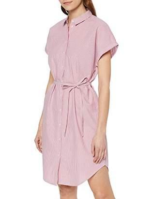 Vero Moda Women's VMJANE SL ABK Shirt Dress WVN KI,S