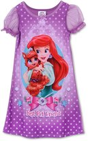 Disney Little Girls Ariel Palace Pets Gown, Purple, [Apparel]