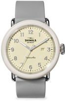 Shinola Detrola The Pine Knob Stainless Steel and Resin Case Watch