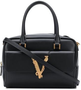 Versace small Virtus tote bag